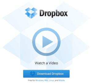 DropBox Page