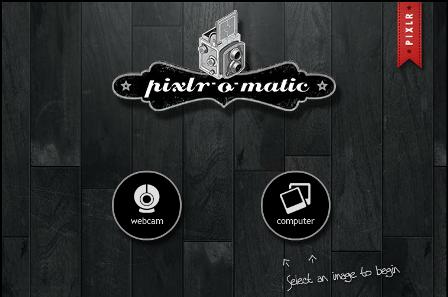 Pixlr-o-matic Site