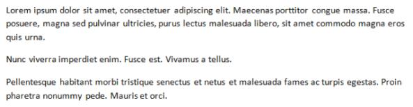 lorem ipsum වාක්යක්